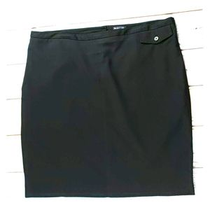 Gap black pencil skirt. Completely lined.